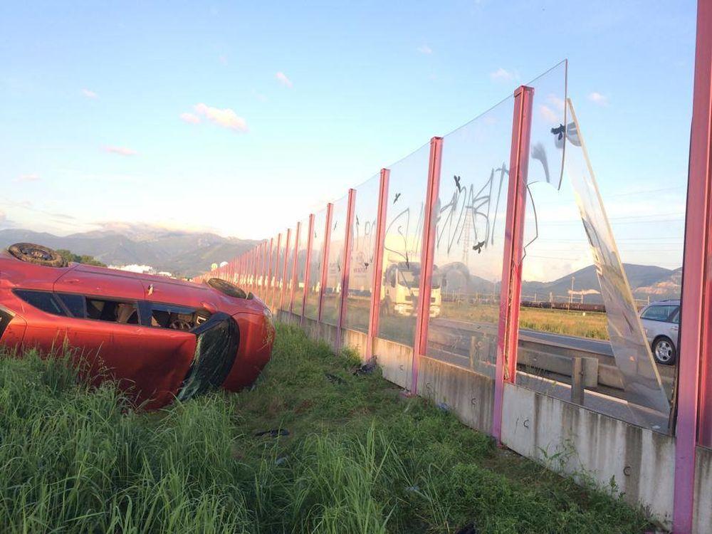 Dopravná nehoda pri Tepličke nad Váhom 27.5.2014, foto 4