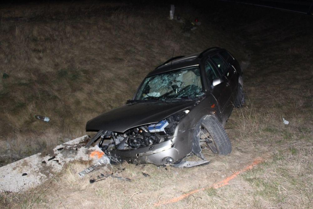 Dopravná nehoda pri Varíne 27.2.2014, foto 2
