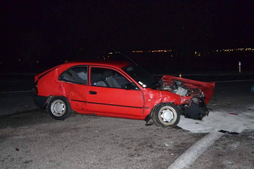 Dopravná nehoda pri Varíne 6.1.2014, foto 2