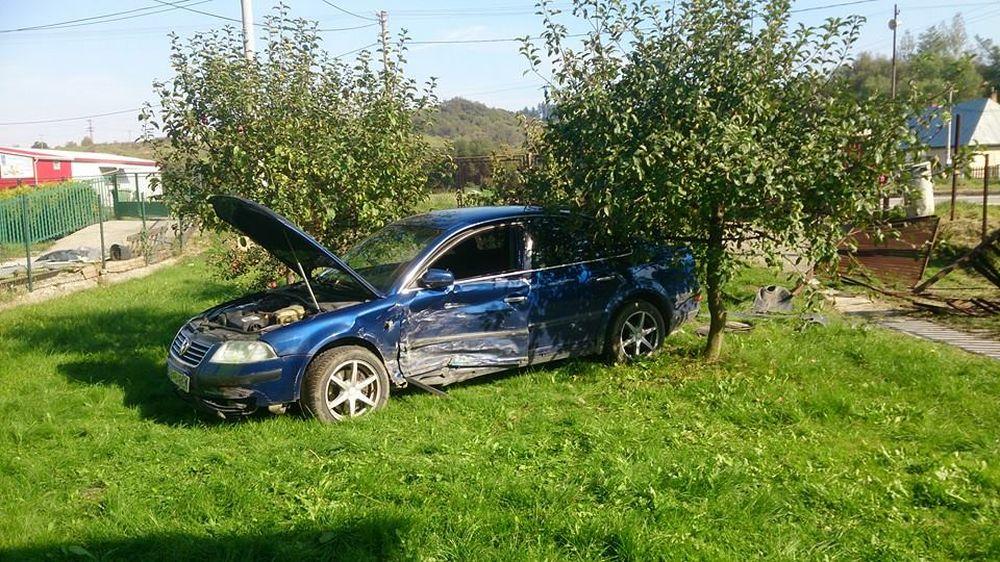 Dopravná nehoda v Lietavskej Lúčke, foto 1