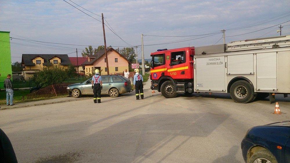 Dopravná nehoda v Lietavskej Lúčke, foto 2
