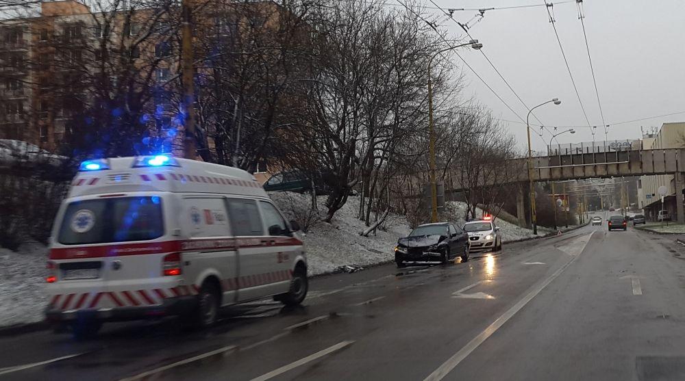 Dopravné nehody 24.1.2015, foto 1