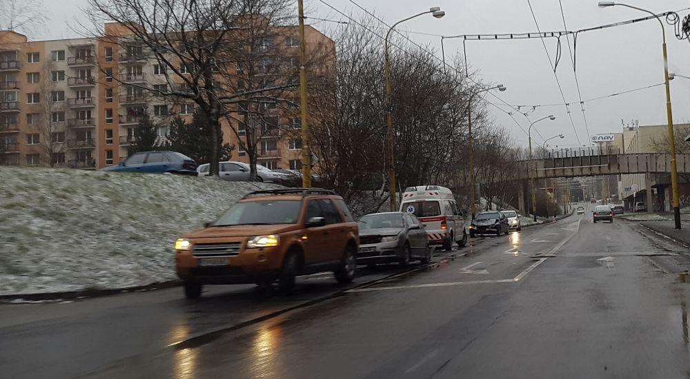 Dopravné nehody 24.1.2015, foto 2