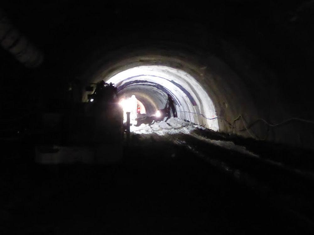 Exkluzívne aktuálne fotografie z Tunela Ovčiarsko , foto 2