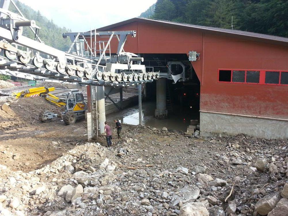 Fotografie z Vrátnej doliny dva týždne po prírodnej kalamite, foto 3