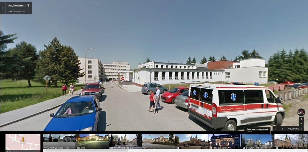 Google Streetview Žilina, foto 1