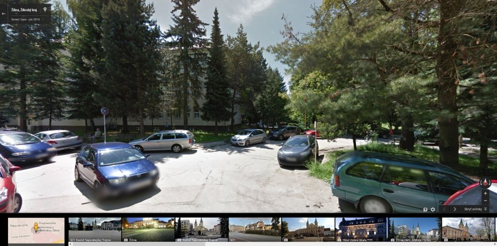 Google Streetview Žilina, foto 3