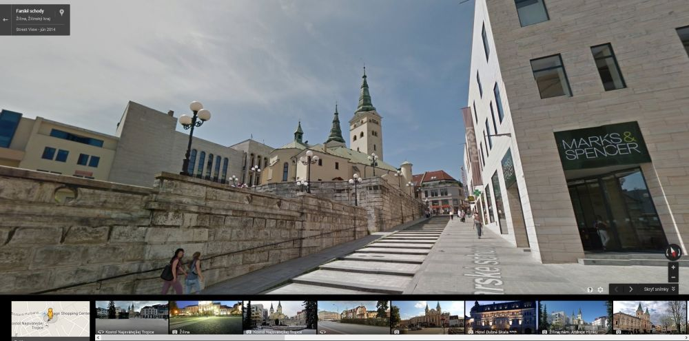 Google Streetview Žilina, foto 4