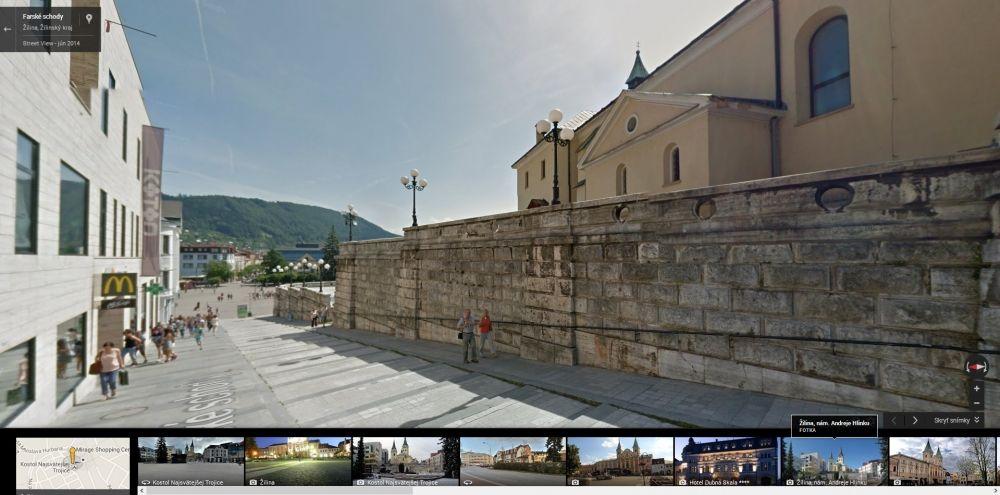 Google Streetview Žilina, foto 5