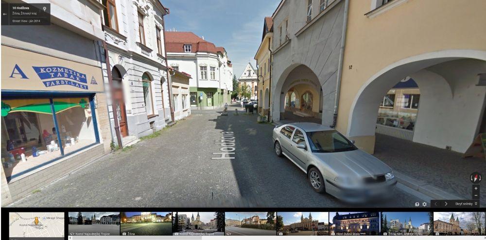 Google Streetview Žilina, foto 8