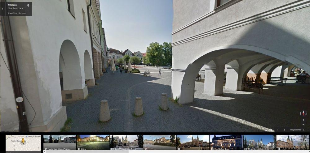 Google Streetview Žilina, foto 9