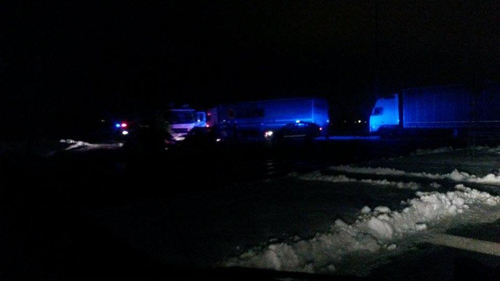 Hádka kamionistov v Tepličke nad Váhom skončila fyzickým napadnutím, foto 4