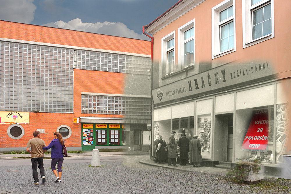Historické fotografie Farské schody Žilina, foto 1