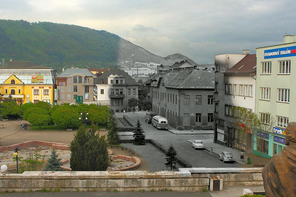 Historické fotografie Farské schody Žilina, foto 2