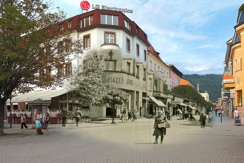 Historické fotografie Farské schody Žilina, foto 3