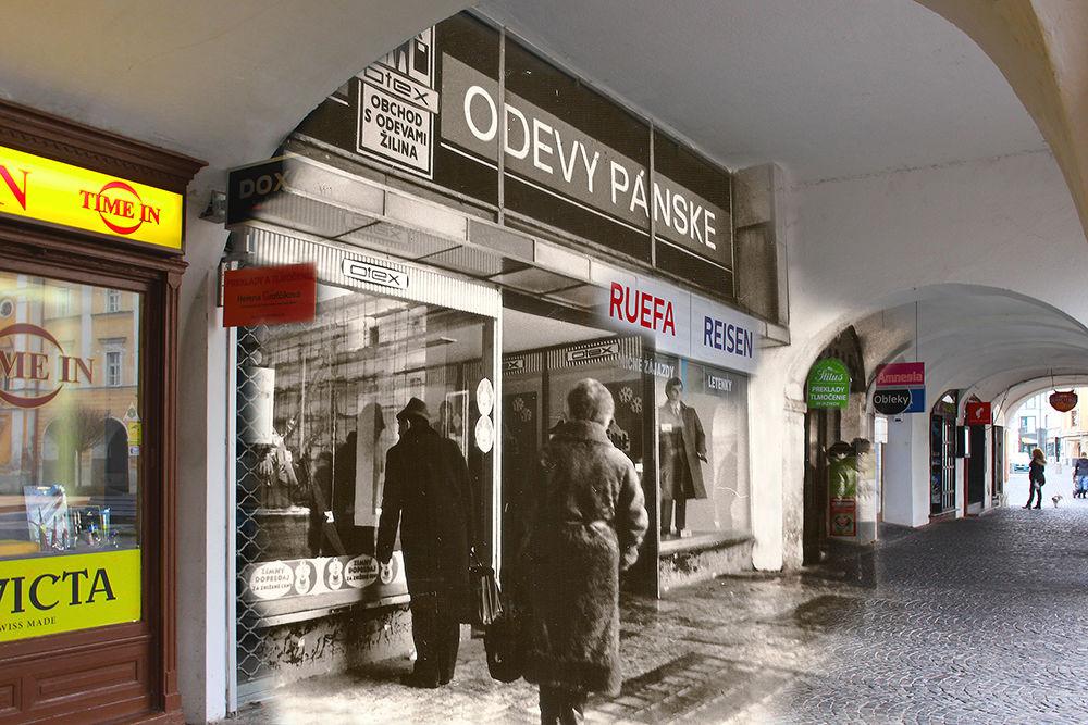 Historické fotografie Žiliny v porovnaní so súčasnosťou - III časť, foto 2