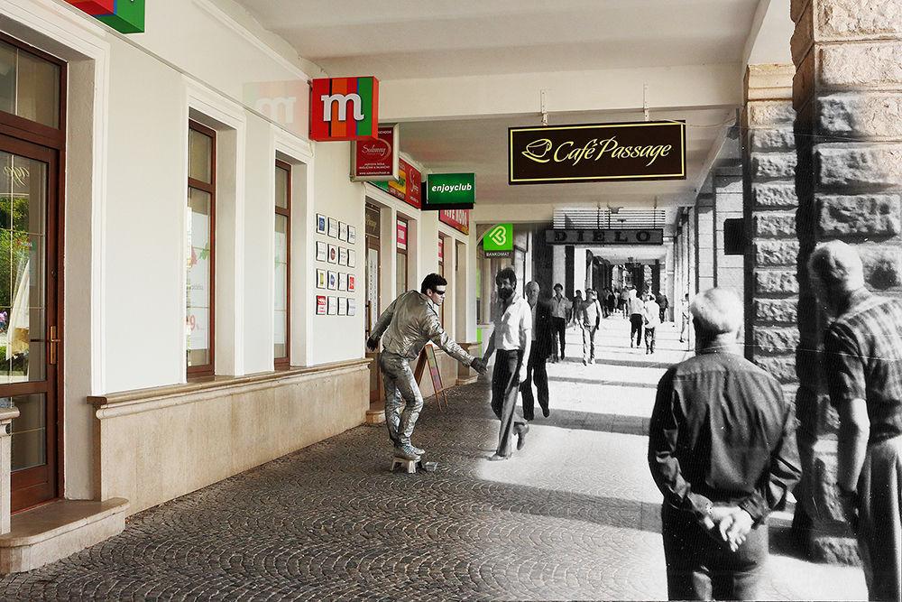 Historické fotografie Žiliny v porovnaní so súčasnosťou - V časť , foto 2