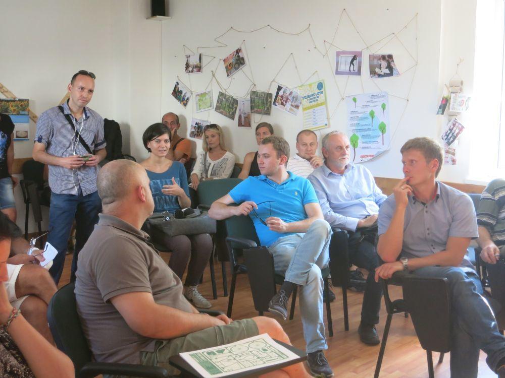 Lesopark Žilina diskusia o jeho budúcnosti 2014, foto 2