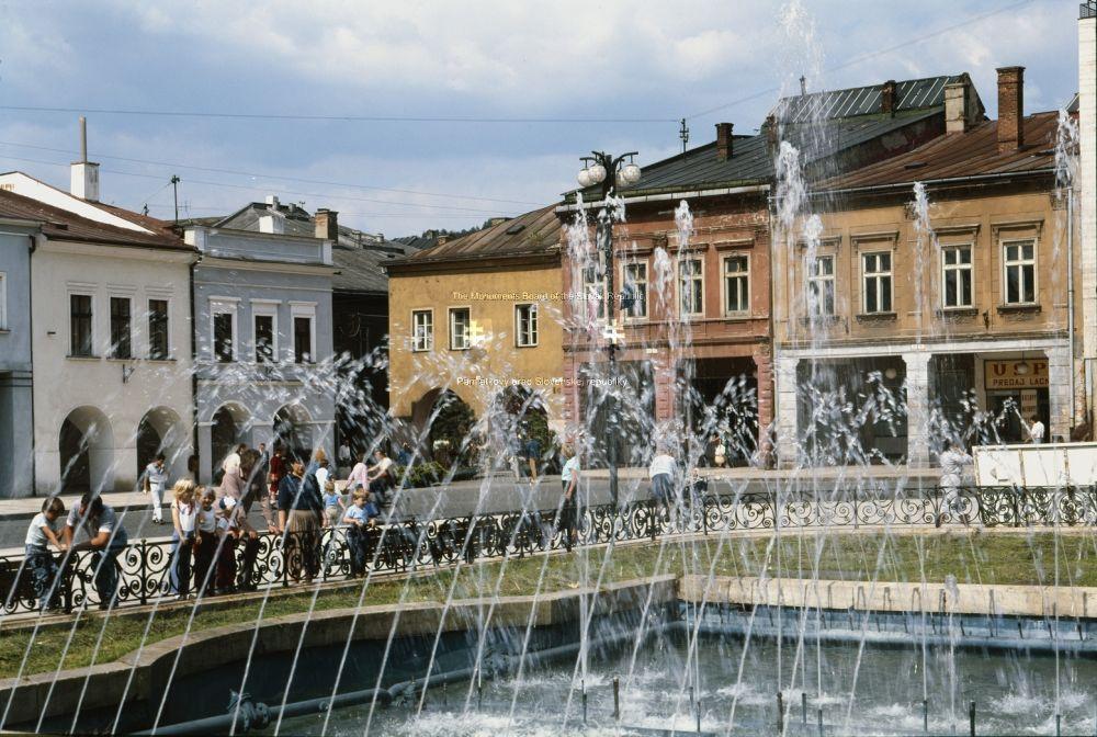 Mariánske námestie po rokoch 1980, foto 2