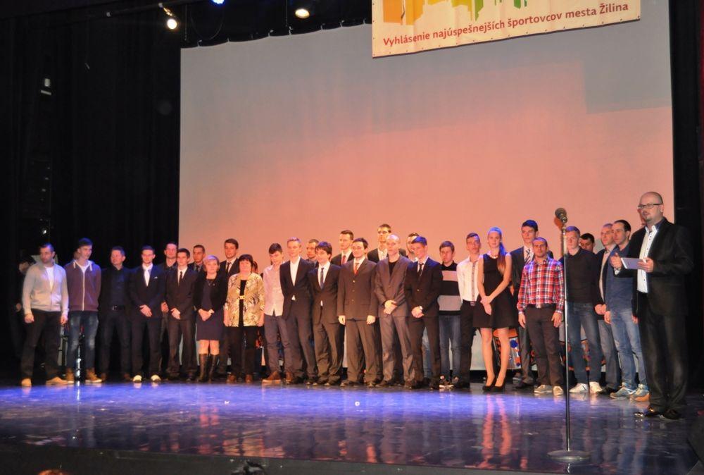 Najúspešnejší športovci mesta Žilina za rok 2014 - Vyhlásenie, foto 1