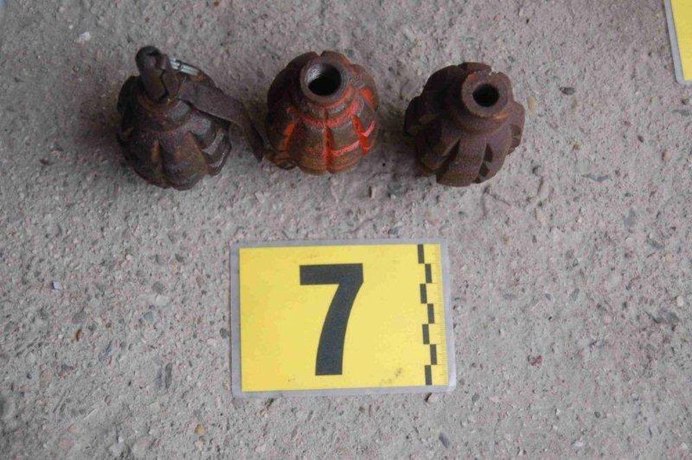 Nález zbraní a munície v Turzovke, foto 2