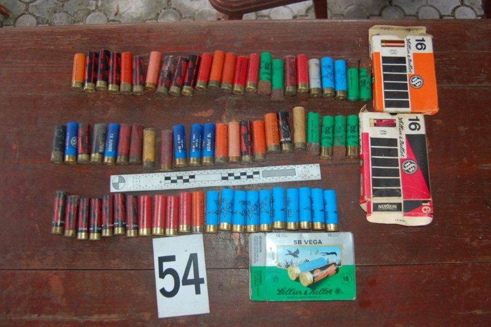 Nález zbraní a munície v Turzovke, foto 14