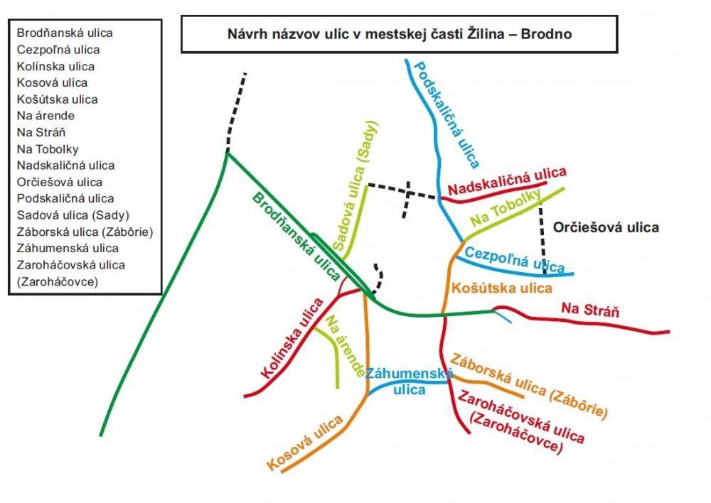 Navrhnite názvy ulíc v Brodne, Zádubní a Žilinskej Lehote!, foto 3