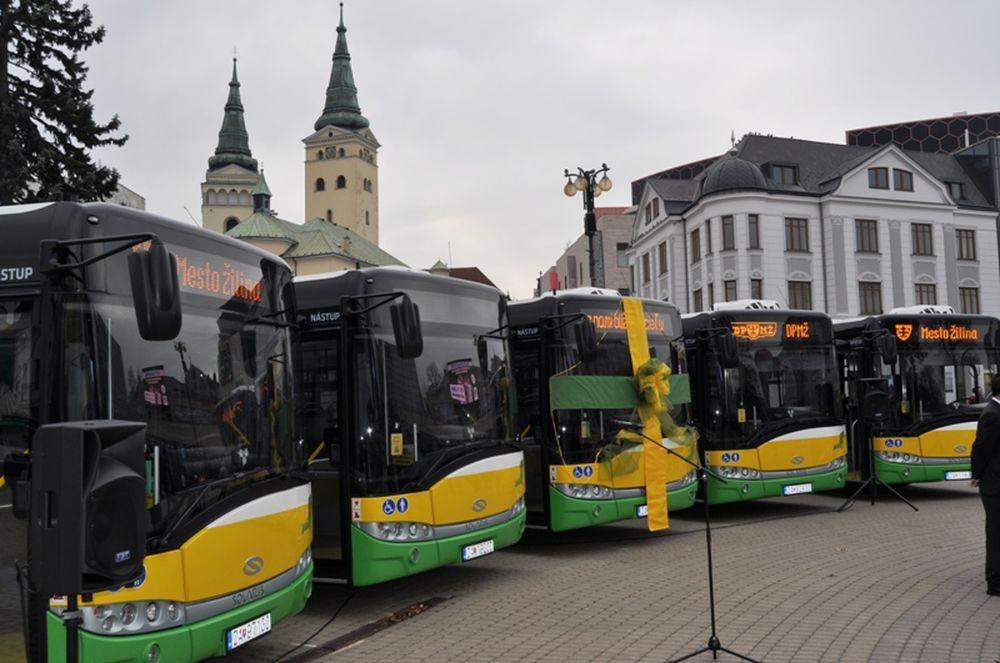 Nové trolejbusy v Žiline, foto 1