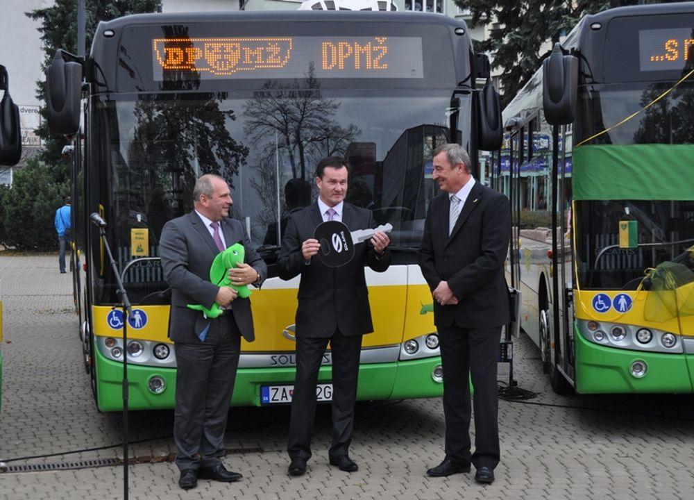 Nové trolejbusy v Žiline, foto 2