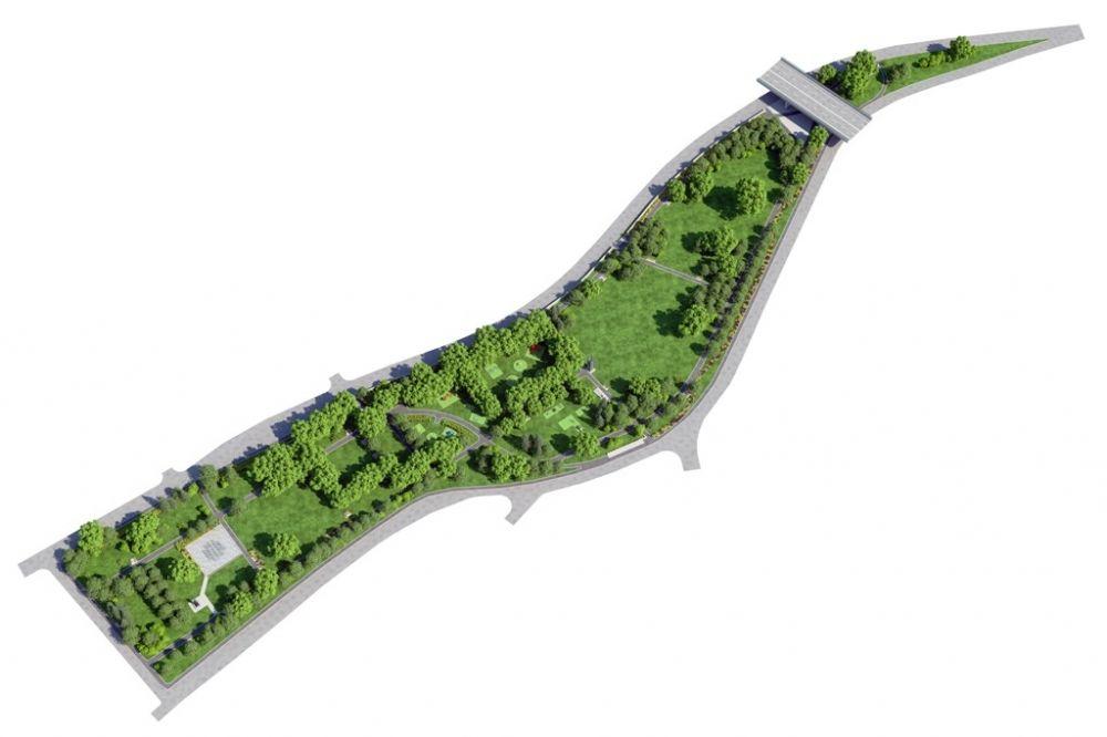 Park Ľudovíta Štúra čakajú zmeny, pozrite si vizualizáciu, foto 1