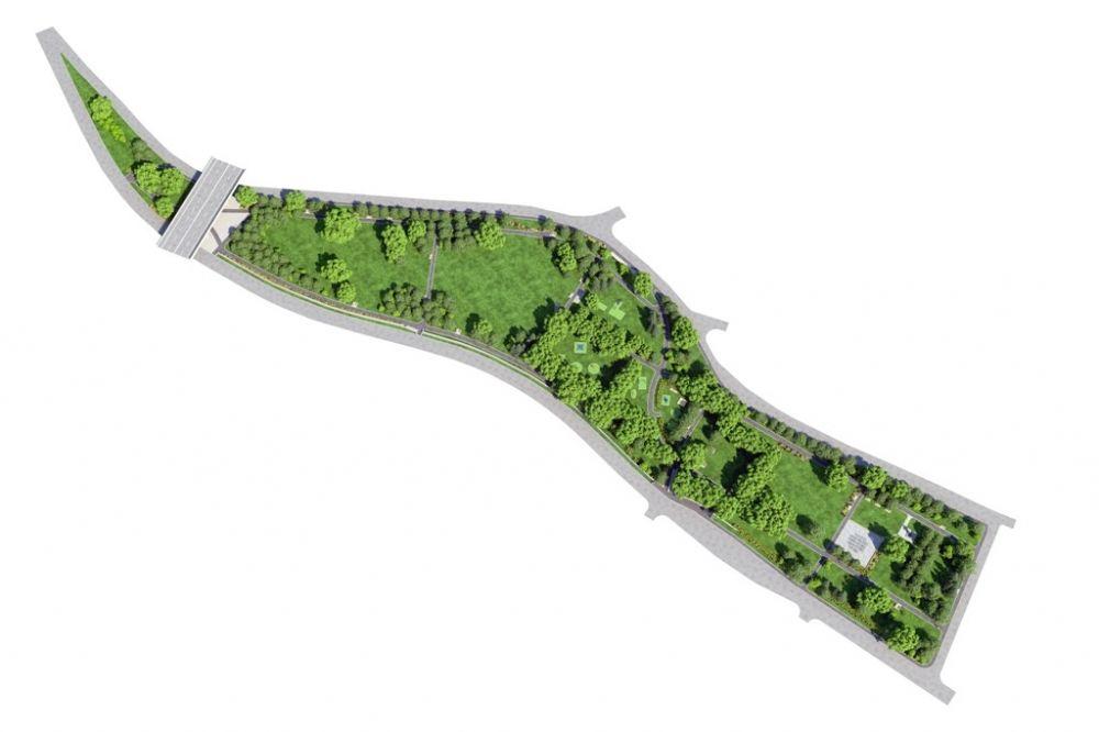 Park Ľudovíta Štúra čakajú zmeny, pozrite si vizualizáciu, foto 2