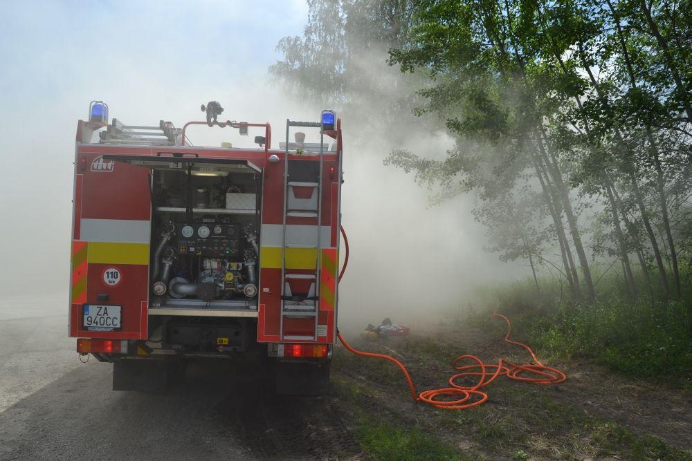 Požiar holubiarskej chaty v Trnovom 24.mája 2014, foto 4