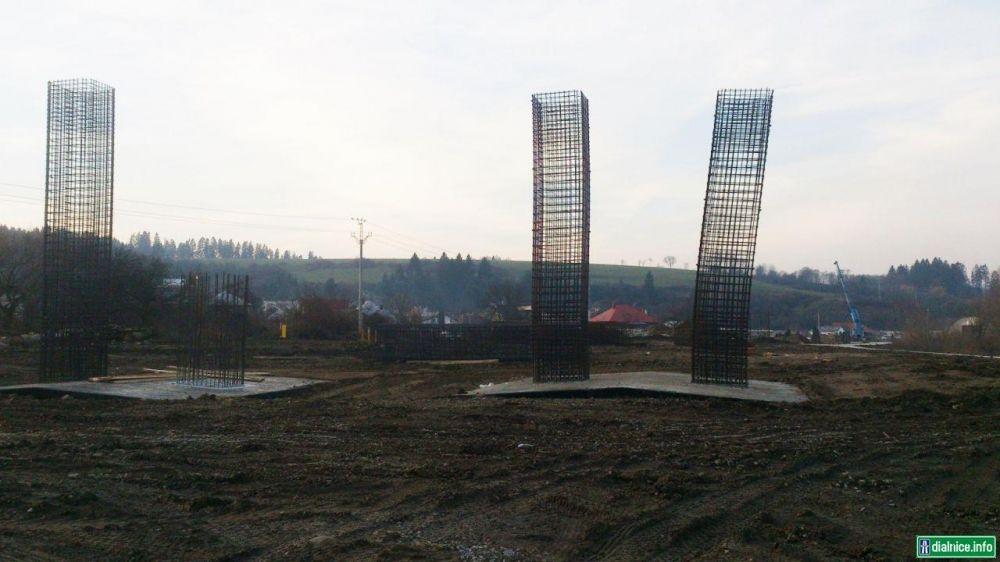 Práce na diaľnici D1 pri Lietavskej Lúčke, foto 3