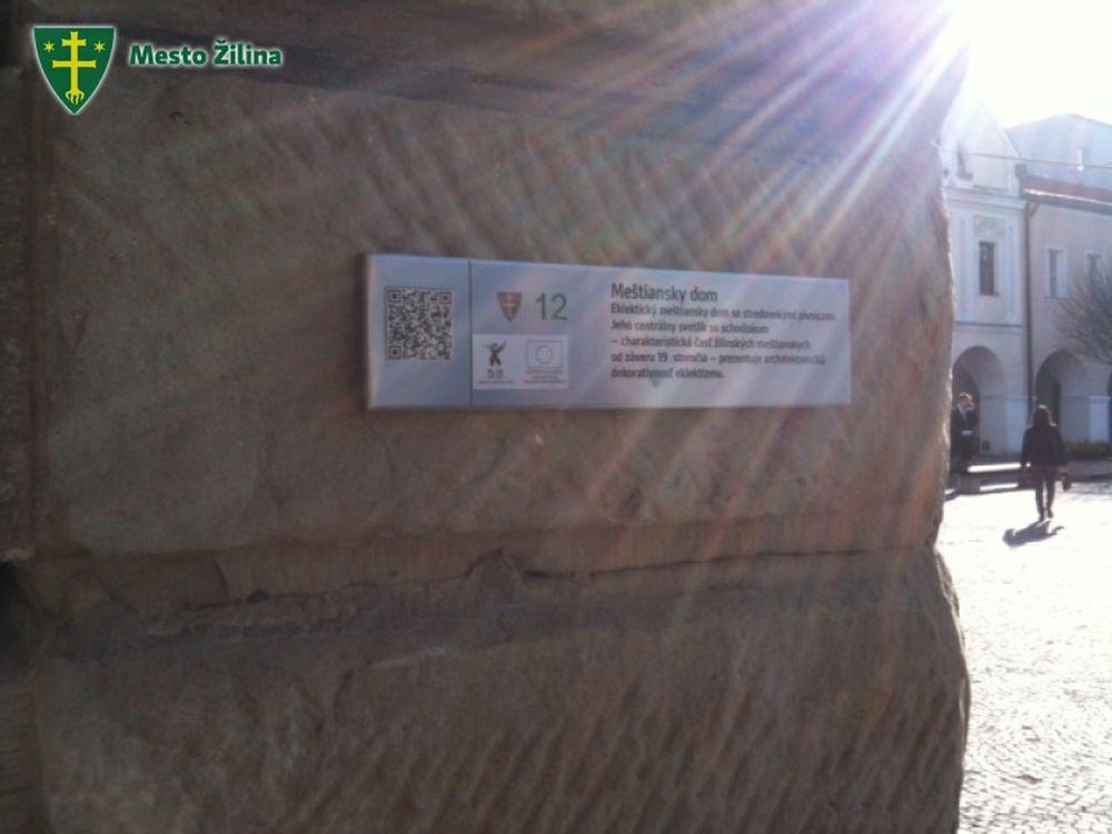 QR kódy Žilina pamiatky, foto 2