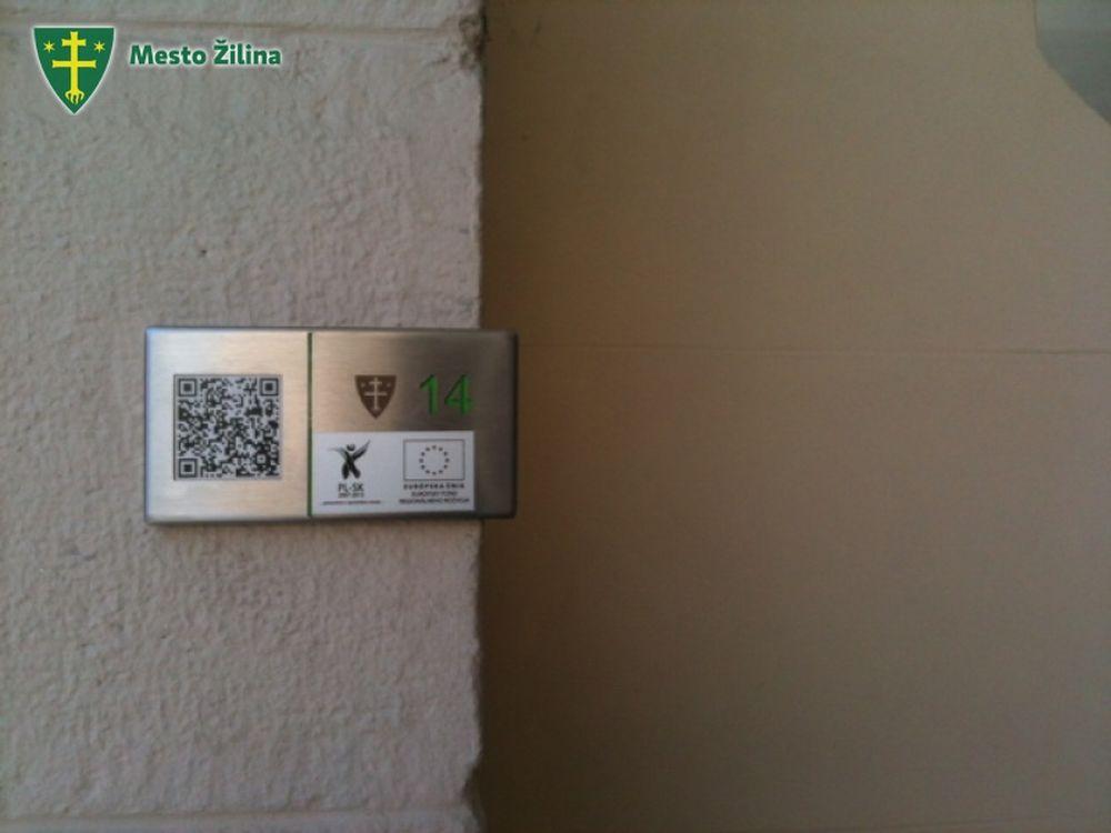 QR kódy Žilina pamiatky, foto 5