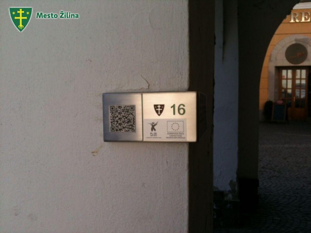 QR kódy Žilina pamiatky, foto 6