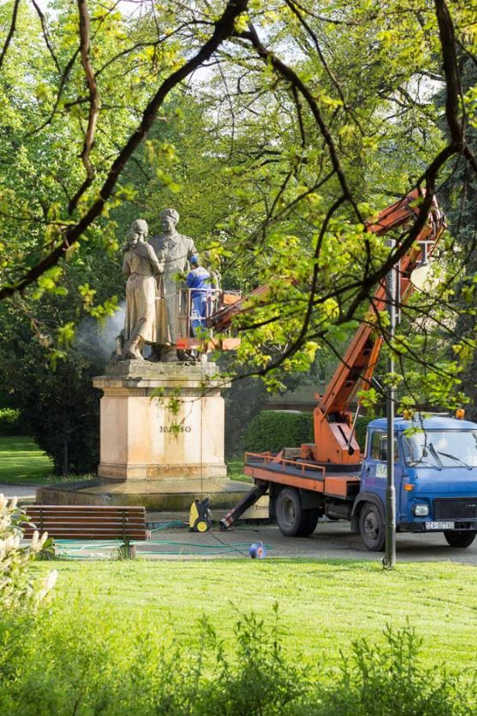 Ranná očista v Parku Slovenského národného povstania, foto 2
