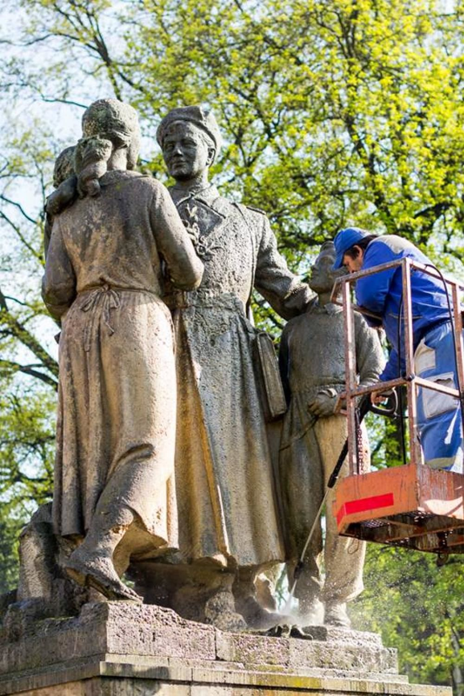 Ranná očista v Parku Slovenského národného povstania, foto 3