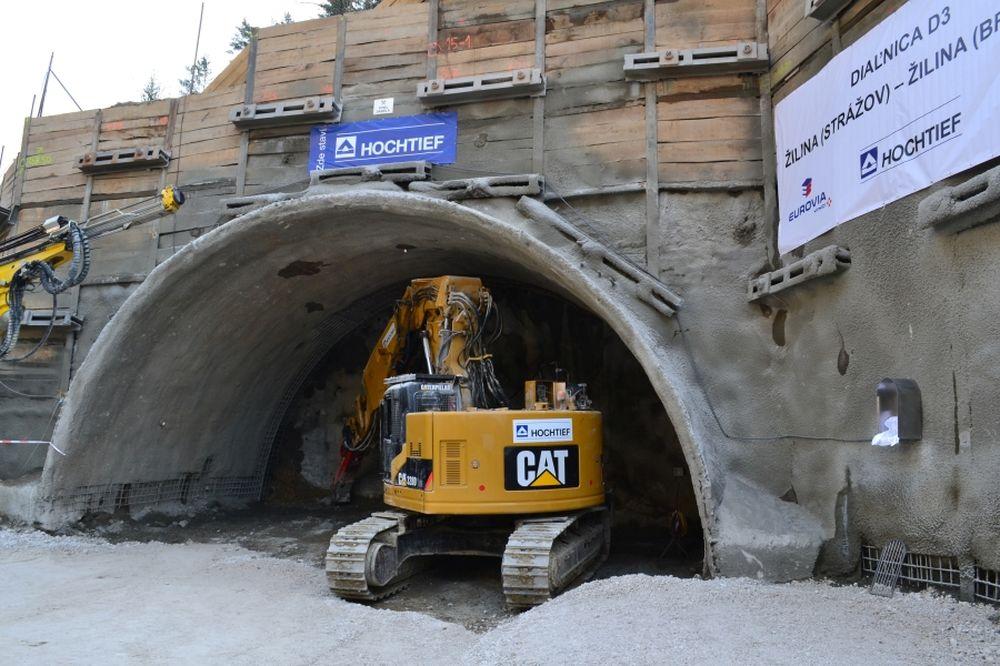 Razenie tunela Považský Chlmec, foto 3