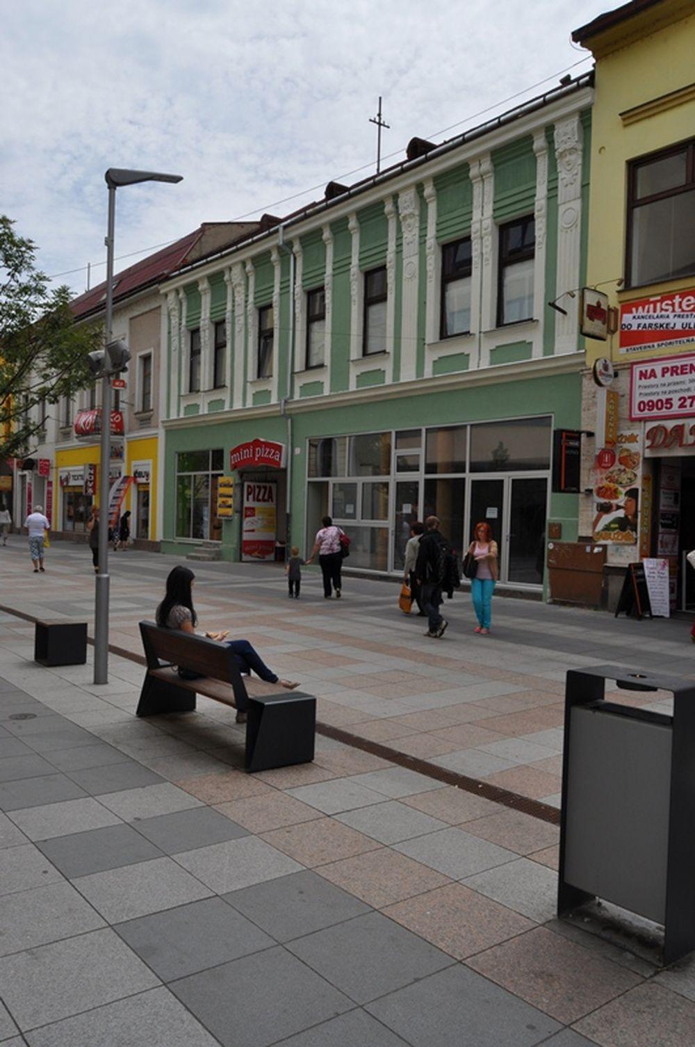 Rekonštrukcia domu Národná ulica Žilina, foto 1