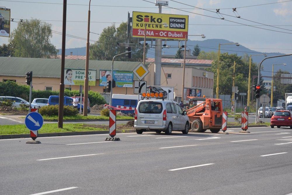 Rekonštrukcia križovatky na Košickej ulici, foto 1