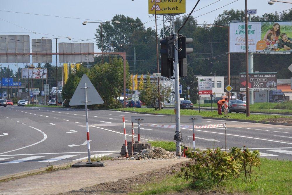 Rekonštrukcia križovatky na Košickej ulici, foto 7