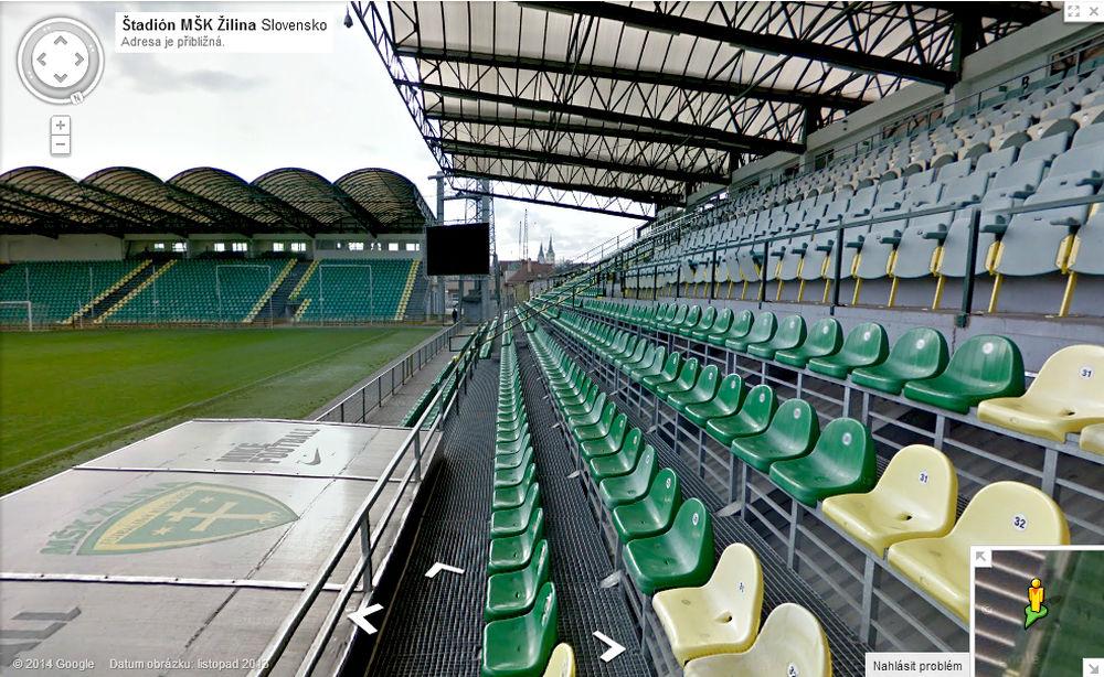 06d61a91d8 ... Štadión MŠK Žilina na Google mapách ...