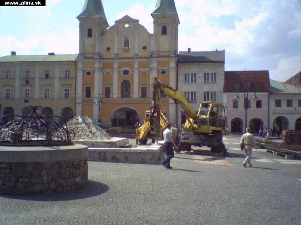 Fontána na Mariánskom námestí, foto 1