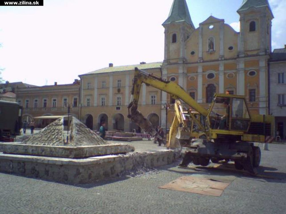 Fontána na Mariánskom námestí, foto 2