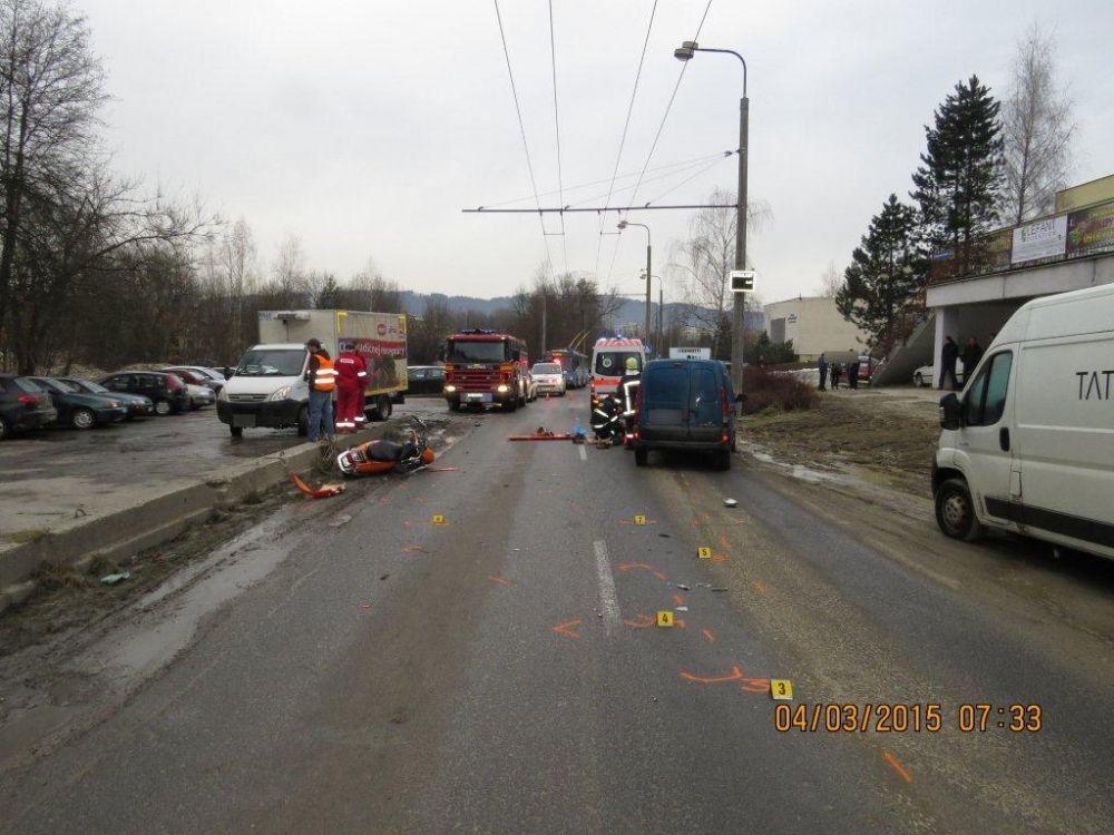 Tragická nehoda motorkára na Vlčincoch, foto 1