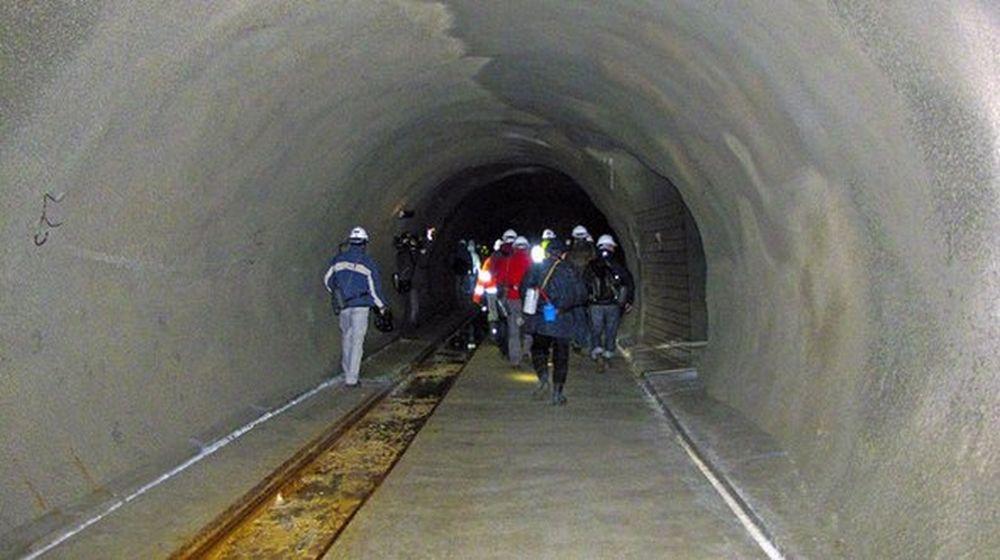 Tunel Višňové - Dubná skala v súčasnosti - 30.11.2013, foto 1