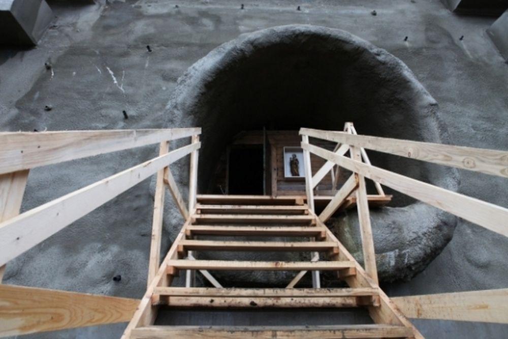 Tunel Višňové - Dubná skala v súčasnosti - 30.11.2013, foto 2
