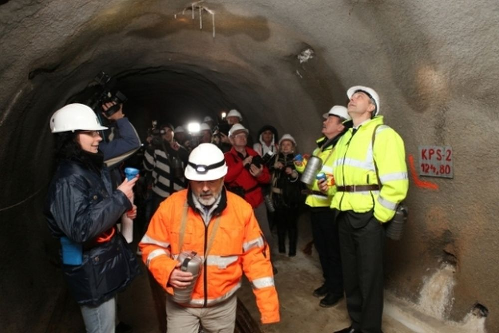 Tunel Višňové - Dubná skala v súčasnosti - 30.11.2013, foto 3