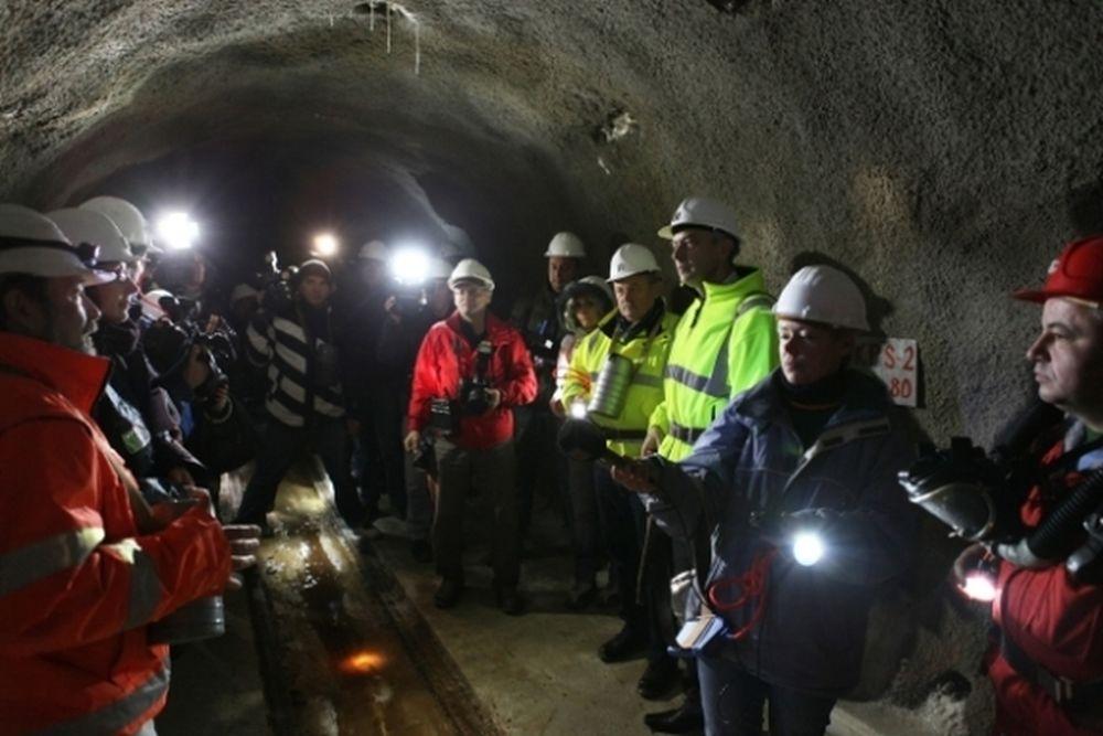 Tunel Višňové - Dubná skala v súčasnosti - 30.11.2013, foto 4